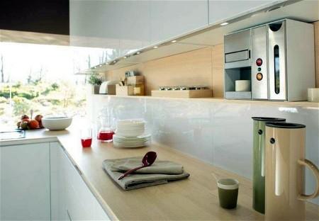 Nieuwe Design Keuken : Nieuw model italiaanse greeploze design keuken van snaidero
