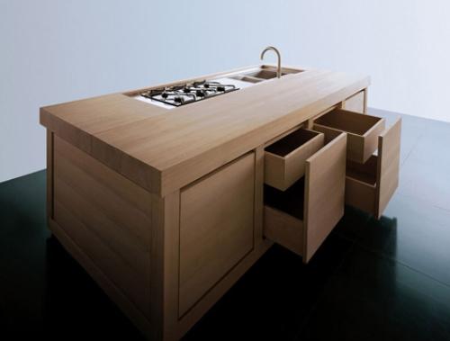 Keuken witte keuken met zwart werkblad : Rudy`s blog over Italiaanse Design Keukens e.d.: ton-sur-ton keukens