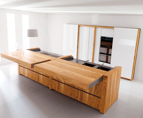 blog over italiaanse design keukens dikke aanrechtbladen. Black Bedroom Furniture Sets. Home Design Ideas