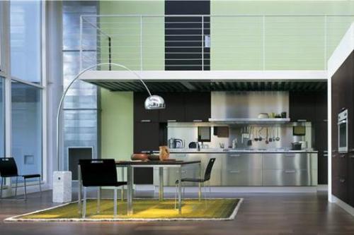 Rvs Design Keuken : Roestvrijstalen keukens en bladen deel design keukens